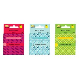 "3M Post It Notes to Go 3""x3"""