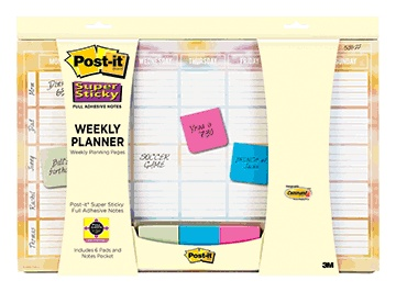 3M Post-It Weekly Calendar
