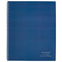 AAG AY Teacher Planner, 11x8.5, Blue