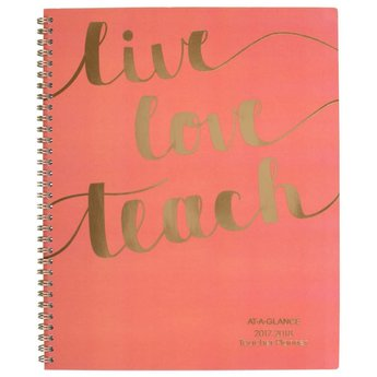 AAG AY Teacher Planner, 11x8.5, CORAL