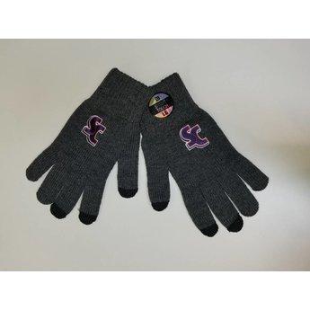 LogoFit uTEXT Heavyweight Smart Touch Knit Gloves, Large,