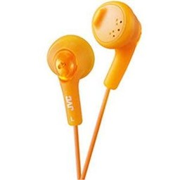 JVC Gumy Headphone Orange
