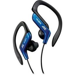 JVC Sport Adjustable Clip Headphones, Blue