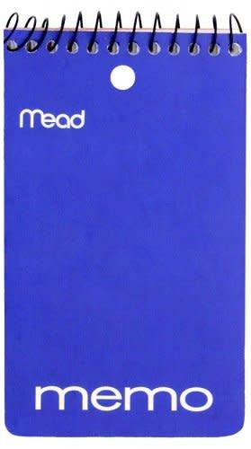Mead Memo Book, 3 in x 5 in, 60ct