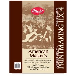 AMERICAN MASTER'S PRINTMAKING PAD 11X14