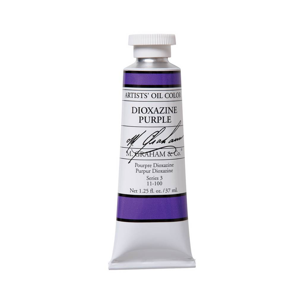 ARTISTS' OIL COLOR, DIOXAZINE PURPLE, 1.25 OZ