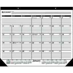 At-A-Glance 2018 Calendar Year Desk Pad Calendar