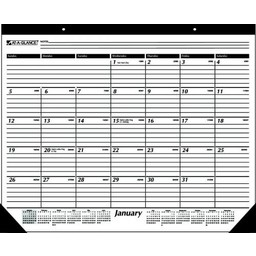 At-A-Glance Calendar Year Desk Pad Calendar