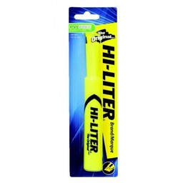 Avery Hi-Liter, Chisel Tip, Yellow
