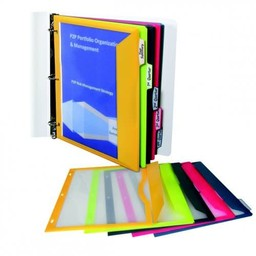 C-Line Binder Pockets, 5-Tab