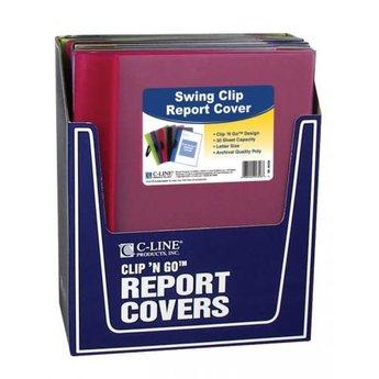 C-Line Swing Clip Report Cover