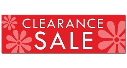 Clearance Books