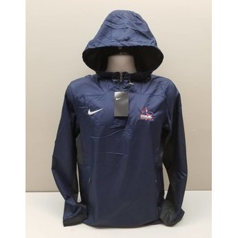 Nike Woven 1/4 Zip Jacket, Navy