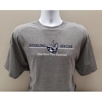 Women's Soccer Tee, Grey