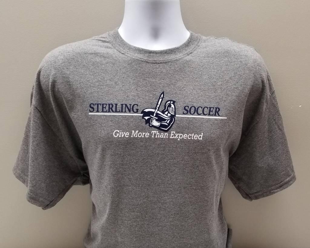 Women's Soccer Tee, Grey