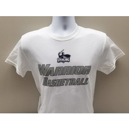 Men's Basketball Tee, White