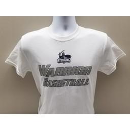 Men's Basketball Tee, White