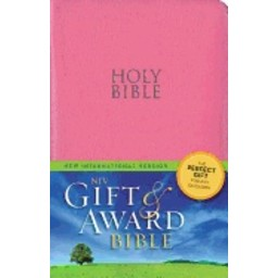 Gift and Award Bible-NIV-Pink