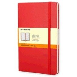 Moleskine Ruled Notebook, Red