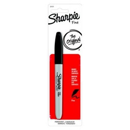 Sharpie Permanent Marker, Fine, Black