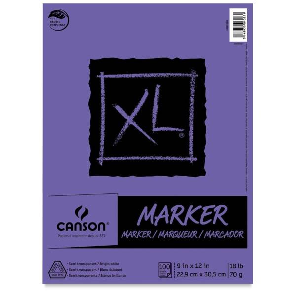 "Canson XL Marker Pad, 9""x12"""
