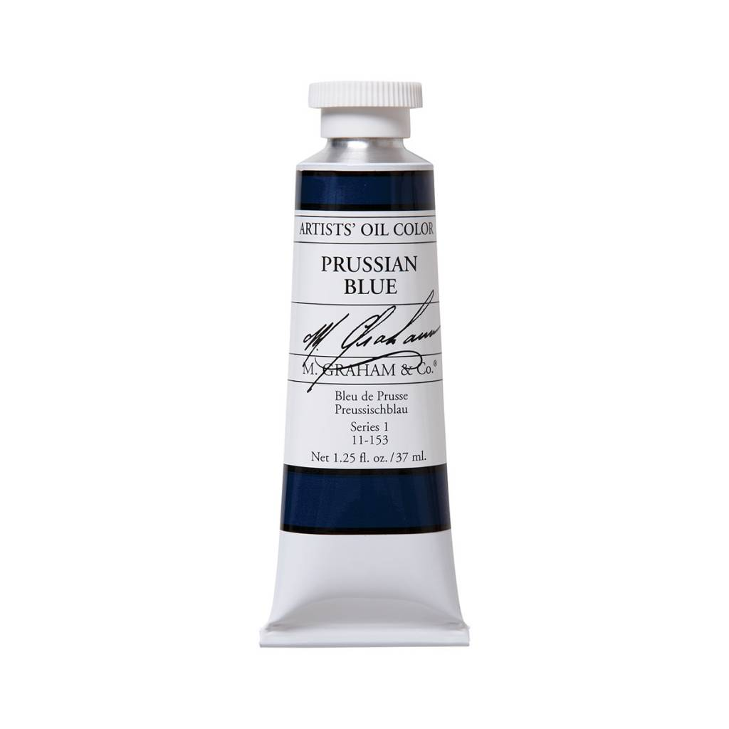 ARTISTS' OIL COLOR, PRUSSIAN BLUE, 1.25 OZ
