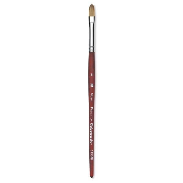 Brush, Princeton Velvetouch Series 3950, Filbert Size 8