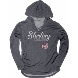 Women's Blue 84 Kenzie Terry Hoodie - Charcoal -
