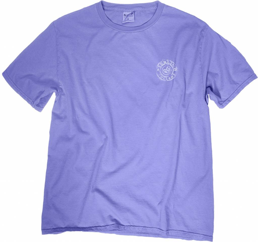 Blue 84 Dyed Ringspun SS Tee - Periwinkle -