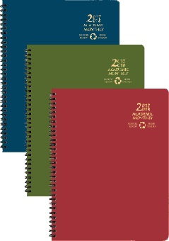 "2017-2018 Payne AY EcoMaxx Recycled Monthly Planner; 8-1/2"" x 11"""