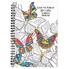 2017-2018 Payne Monthly Planner, 7x10, Color My World