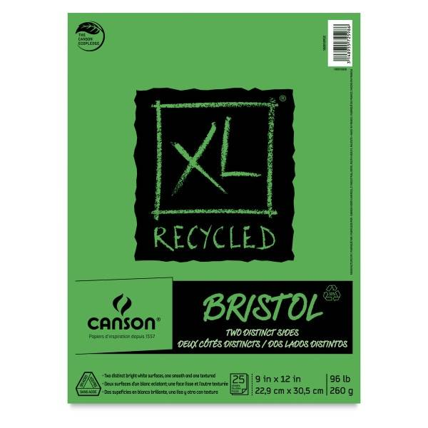 CANSON XL RECYCLED BRISTOL PAD, 14X17