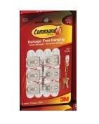 Command Mini Hooks, 6ct