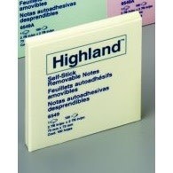 Highland Notes, 3x3 in