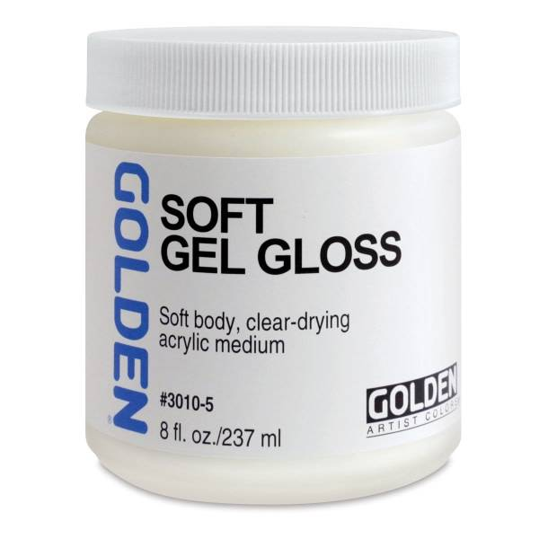 GOLDEN SOFT GEL MEDIUM, 8OZ