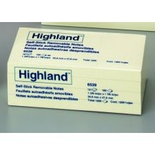 Highland Notes, 1-3/8x1-7/8, 1200ct