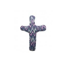 Pocket Cross, Purple Chevron