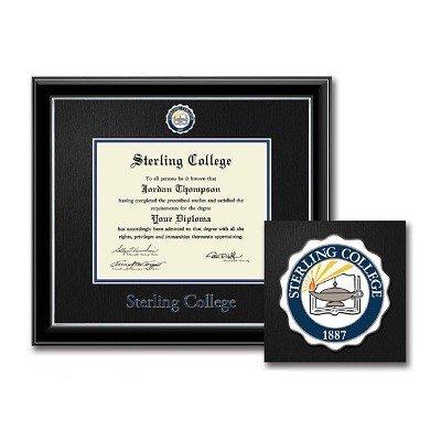 Diploma Frame, Dimensions, Blue Inner Mat