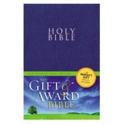 Gift and Award Bible-NIV-Blue