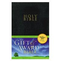 Gift and Award Bible-NIV-Black