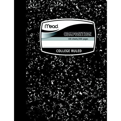 Mead Composition Book, 100ct