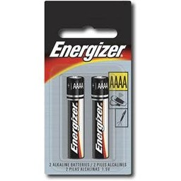 Energizer AAAA Batteries, 2ct