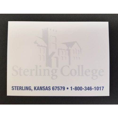 Post-It Notes, Sterling College, 3 in x 5 in