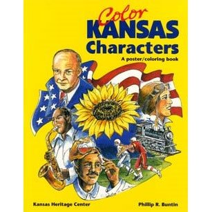 Color Kansas Characters Coloring Book