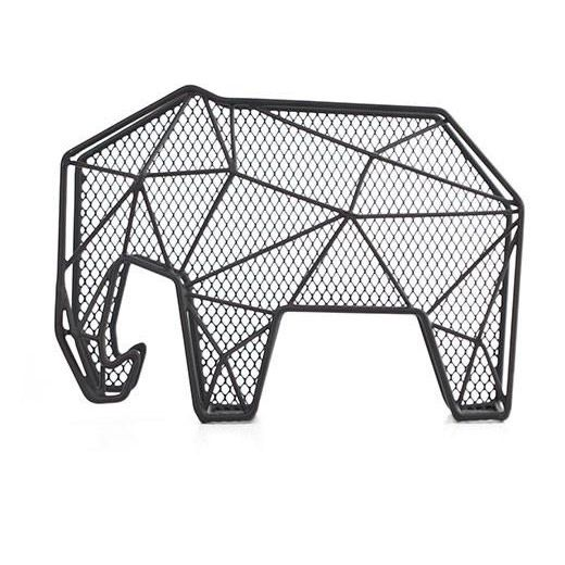 Letter Organizer Elephant + Key Holder