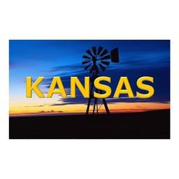 Postcard - Kansas Windmill