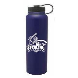 40 oz. Navy Blue Stainless Steel Peak Bottle