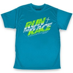 Run the Race Active Adult T-Shirt