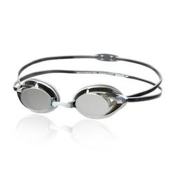 Speedo Vanquisher 2.0 Mirrored Goggle - Black/Silver