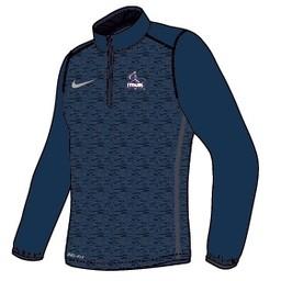 Nike Coaches 1/4 Zip Top - Navy Blue -